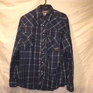Wrangler Wrancher western cut shirt